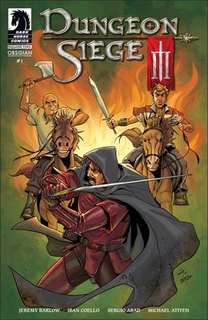 """""""Dungeon Siege"""" comic"""