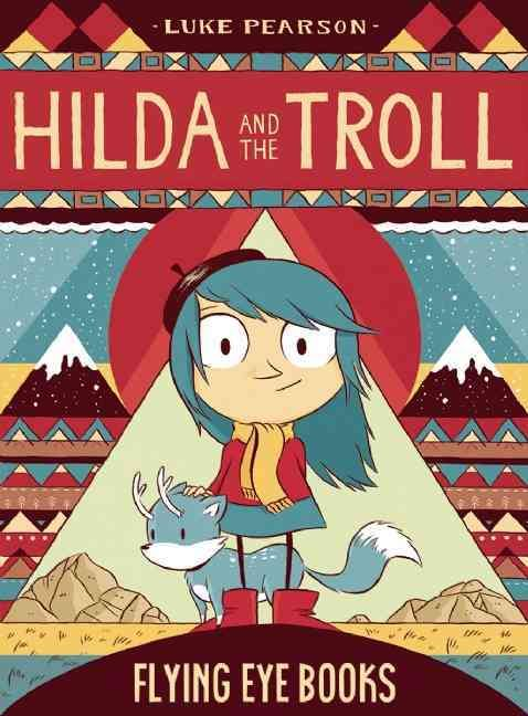 """Hilda and the Troll"" comic cover"