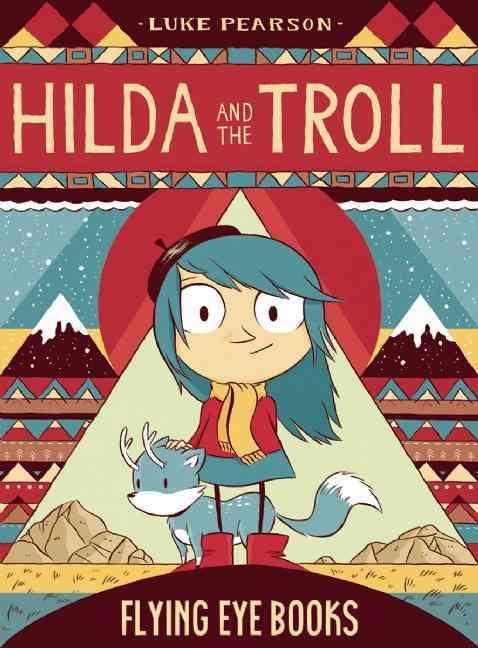 """""""Hilda and the Troll"""" comic cover"""