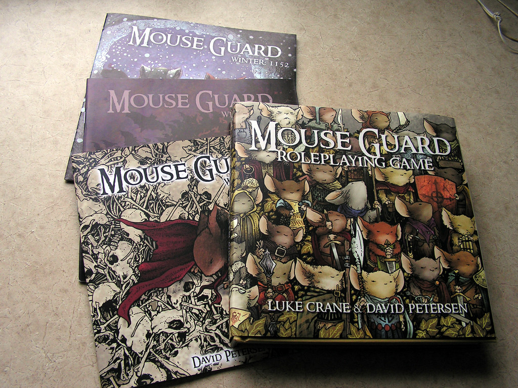 """Mouse Guard"" comics"