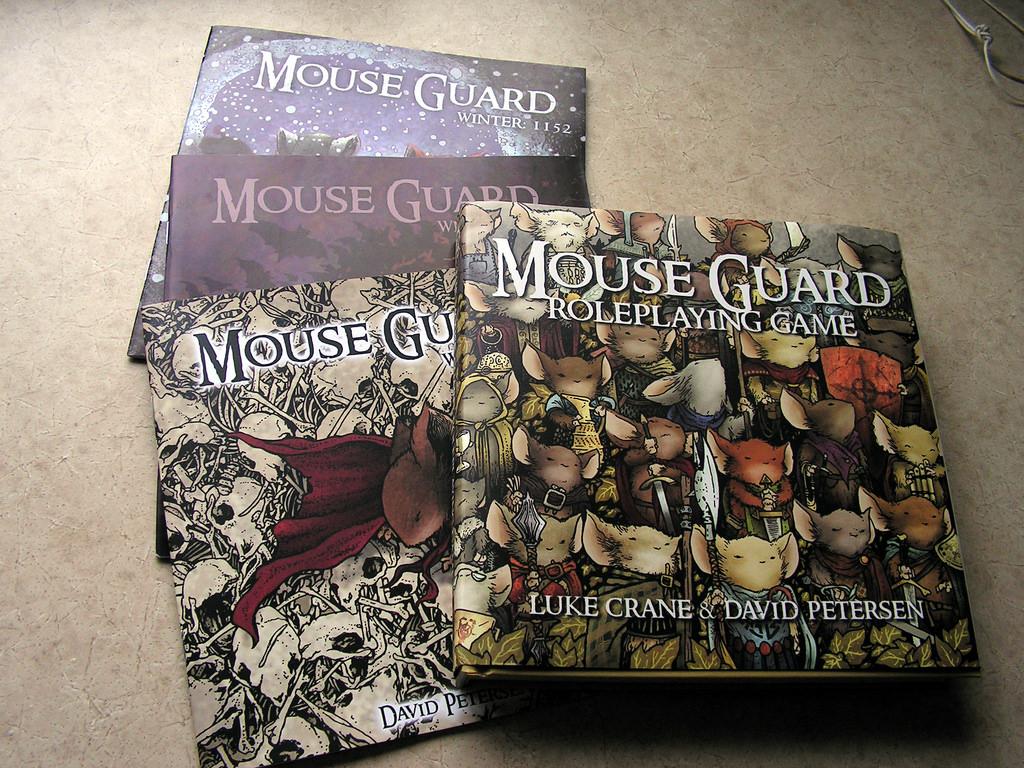 """Mouse Guard"" comics"