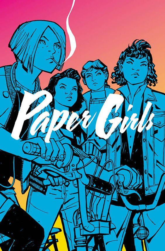 """Paper Girls"" comic series"