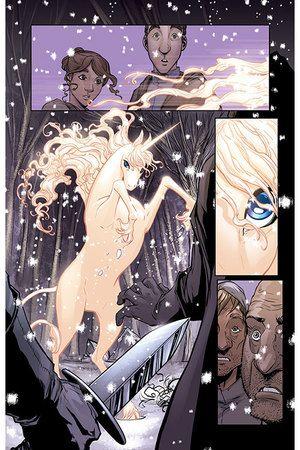 """The Last Unicorn"" comic"