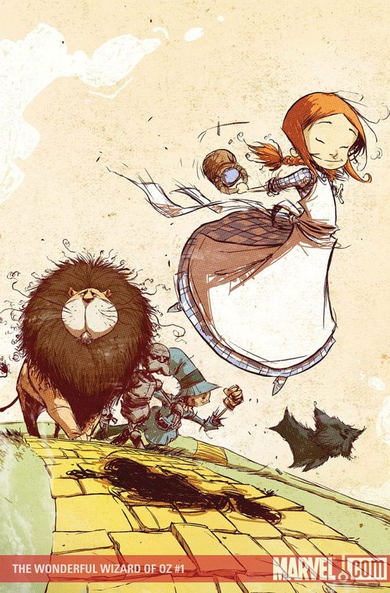 """Wonderful Wizard of Oz"" comic book"