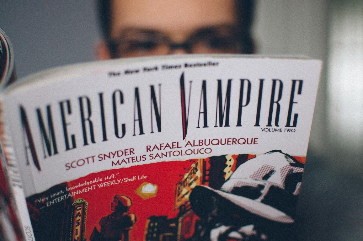 """""""American Vampire"""" comic book"""