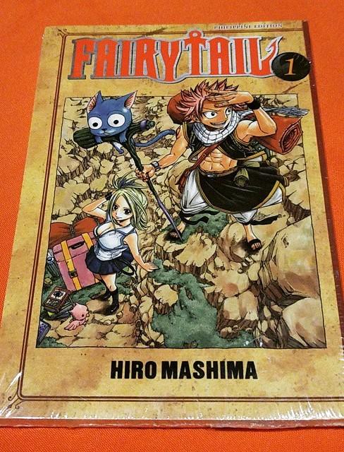 """""""Fairy Tail"""" manga"""