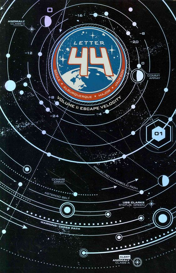 """Letter 44"" comic series"