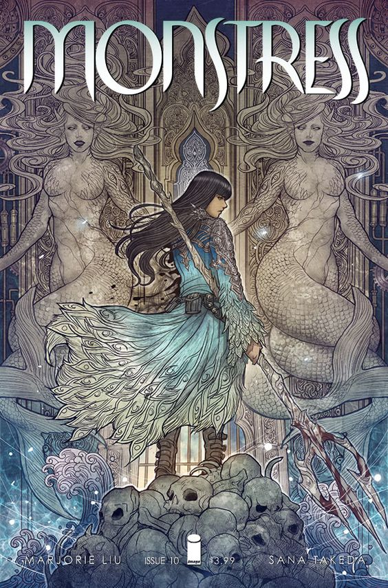 """Monstress"" comic series"