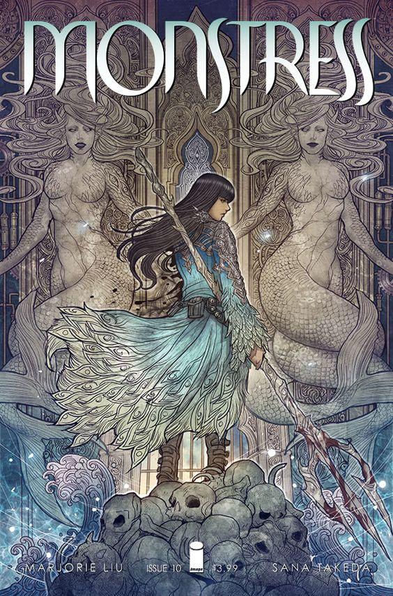 """Monstress"" comic series"