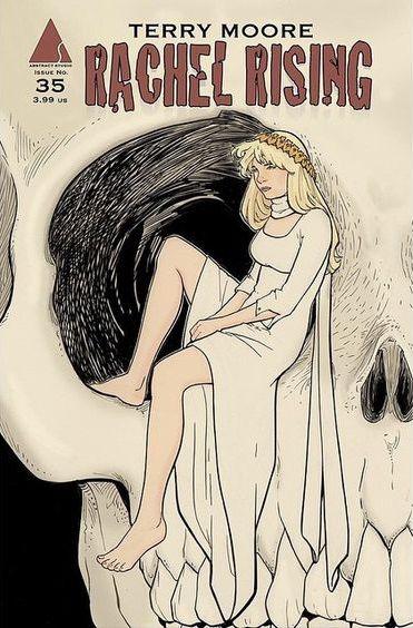 """""""Rachel Rising"""" comic book cover"""